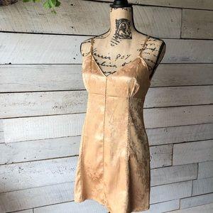Vintage Victoria's Secret Lace Up Dress